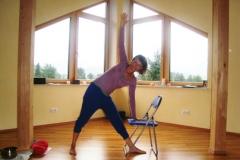 yoga am sessel